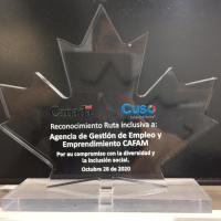Agencia de Empleo Cafam recibe nuevo reconocimiento por su trabajo en pro de la inclusión en Colombia